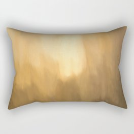 Abstract Beige Shades. Like painted on canvas. Rectangular Pillow