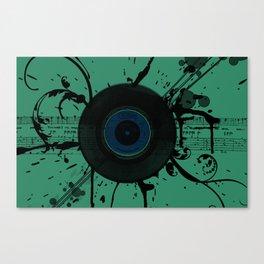 Vintage Vinyl Canvas Print