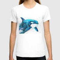 orca T-shirts featuring Orca  by Slaveika Aladjova