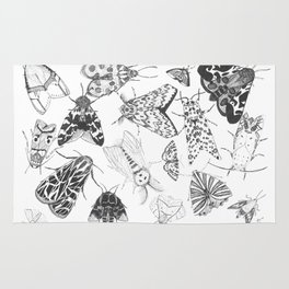 Moth Collection Rug