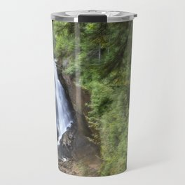 Miners Falls, Munising, Michigan. Travel Mug