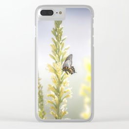 """""""Butterfly and Flowering Shindagger"""" by Murray Bolesta! Clear iPhone Case"""
