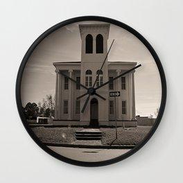 Plantation Home Wall Clock