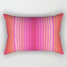 Wavy lines Rectangular Pillow
