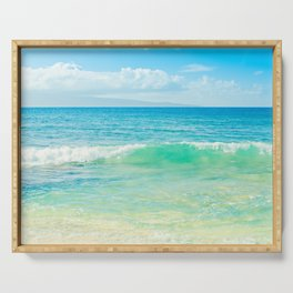 Ocean Blue Beach Dreams Serving Tray