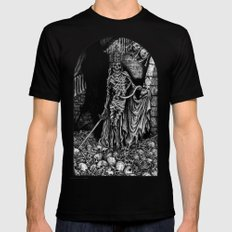 Triumph of Death I Mens Fitted Tee MEDIUM Black