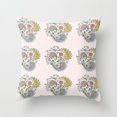 Paisley pattern Throw Pillow