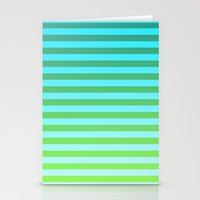 gradient Stationery Cards featuring Gradient by PYRAMIDS.