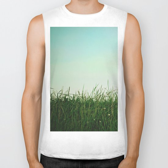 The Grass Is Greener Here  Biker Tank