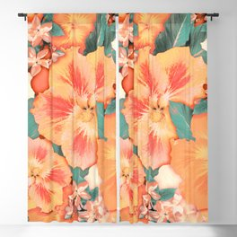 Aloha Orange Sherbet Blackout Curtain