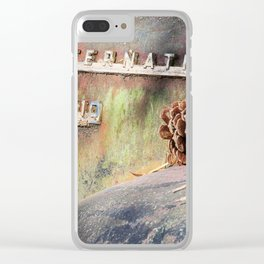International Truck in Old Car City Clear iPhone Case