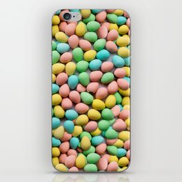 Candy Egg Milk Chocolate Easter Pattern by Patterns Soup iPhone Skin