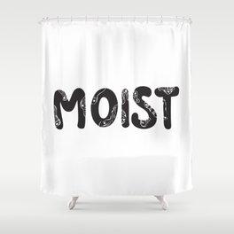 moist Shower Curtain