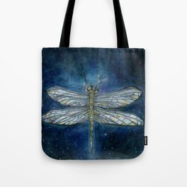 Interstellar Dragonfly Tote Bag