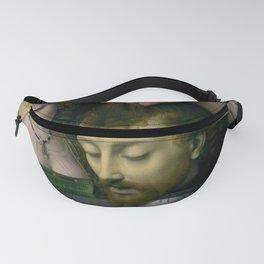 Salome with the Head of Saint John the Baptist - Andrea Solario Fanny Pack