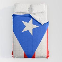 Puerto Rico Flag - Boricua Pride Comforters