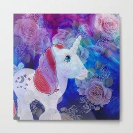 g1 my little pony Moondancer Metal Print