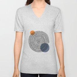 hypnotic spiral Unisex V-Neck