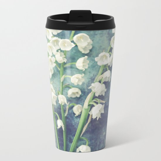 Lily Of The Valley II Metal Travel Mug