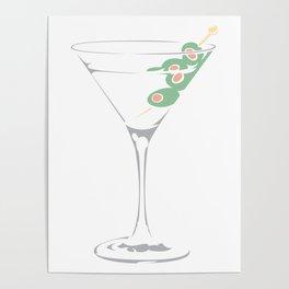 Martini glass... Poster