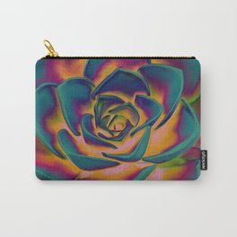 """Exotic Succulent Pop Art"" Carry-All Pouch"