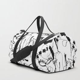 Seduction - b&w Duffle Bag