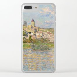 Vetheuil by Claude Monet Clear iPhone Case