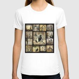 Gothic Squares T-shirt