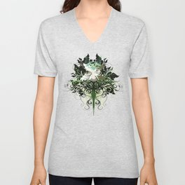 GreenMan Unisex V-Neck
