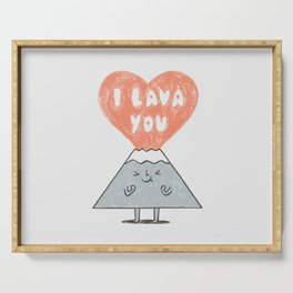 I Lava You 2 Serving Tray