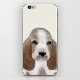 little basset hound iPhone Skin