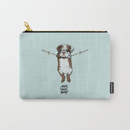 Hang in There Baby English Bulldog Carry-All Pouch