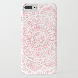 Blush Lace iPhone Case