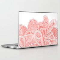 paisley Laptop & iPad Skins featuring Paisley by Laurie Mildenhall