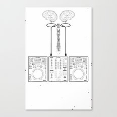 The Pioneer (CDJ Quick Connect Manual) Canvas Print