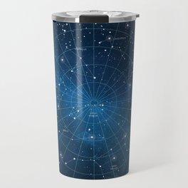 Constellation Star Map Travel Mug