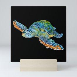 Sea Turtle 4 Mini Art Print