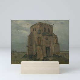 The Old Church Tower at Nuenen Mini Art Print