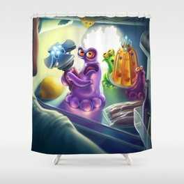Kidnapping story Shower Curtain