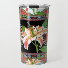 Gilding the Lily Pattern Travel Mug