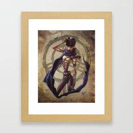Furiosa y Rabiosa Framed Art Print