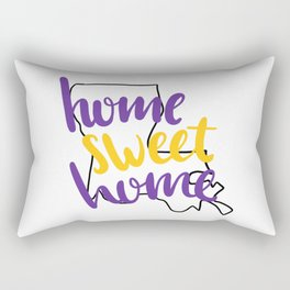 Home Sweet Home LSU Rectangular Pillow