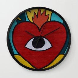 Heart - Coeur Wall Clock