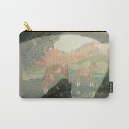 """Horses"" Carry-All Pouch"