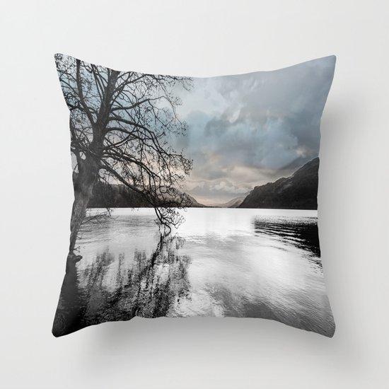 Ullswater Art  Throw Pillow