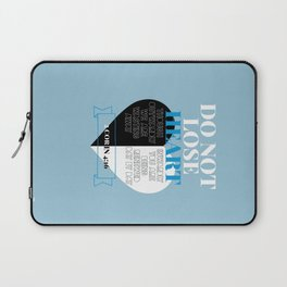 Do Not Lose Heart Laptop Sleeve