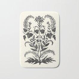 Wild Weeds Bath Mat
