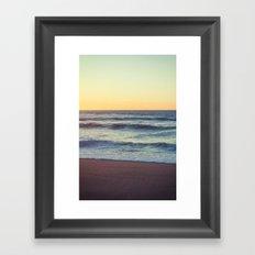 Lazy Winter Framed Art Print