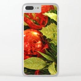 Festive Centerpiece Clear iPhone Case