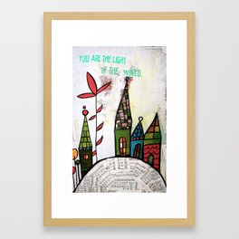 Light of the World Framed Art Print